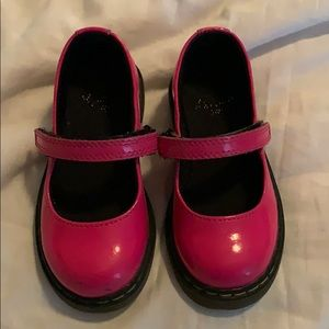 Dr Martens toddler hot pink Mary Janes- size 8